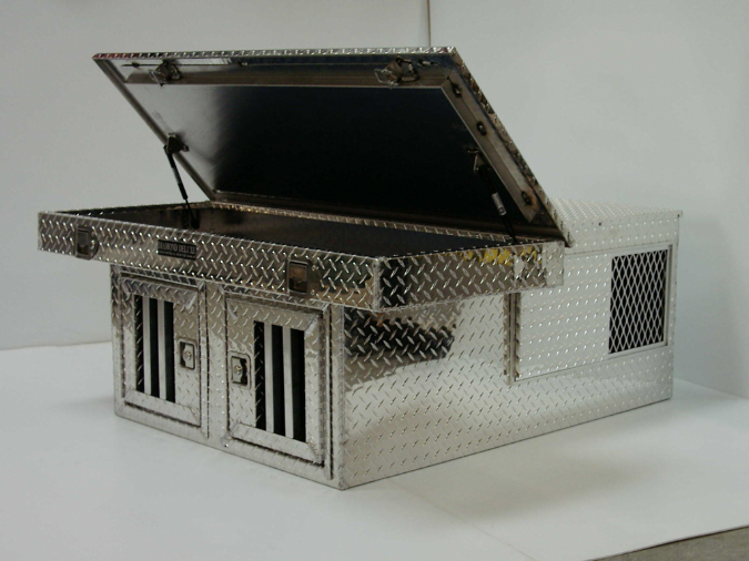 Aluminum dog boxes for sale diamond deluxe aluminum dog boxes