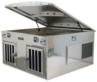 R Style Dog Box with Open Lid