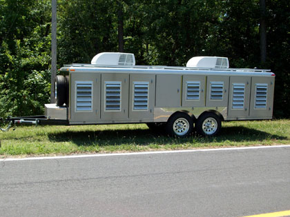 Stainless Steel Dog Trailers