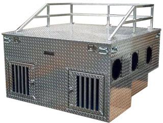 W-Style Dog Box